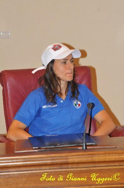 agnese allegrini atleta vignanello premiazione provincia viterbo olimpiadi 2012