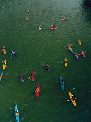 sport canoa tevere