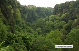 civita castellana natura forre