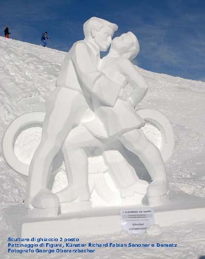 dolimiti festival sculture ghiaccio