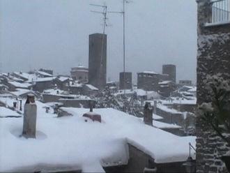 neve viterbo nevicata